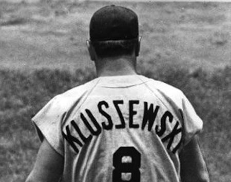 10 ted kluszewsky kluszewxi misspelled jersey