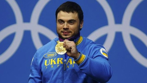 #11 Oleksiy Torokhtiy gold weightlifting ukraine