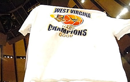 11 west virginia misspelled jersey championship t-shirt