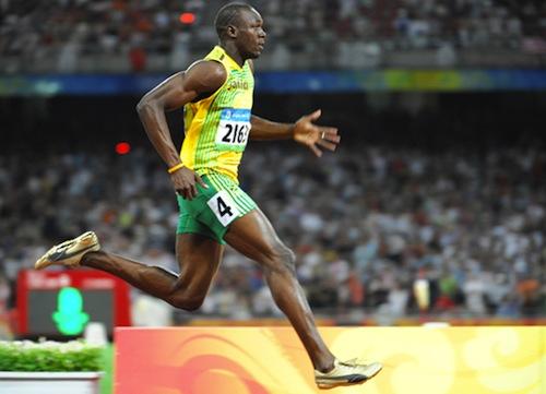 12 Usain Bolt gold medal