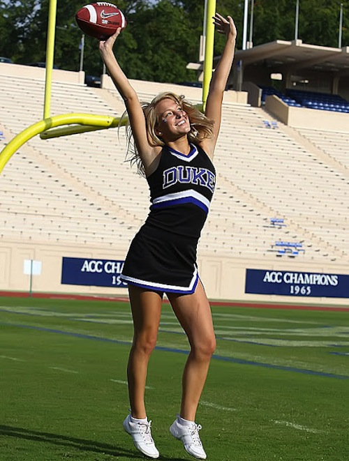 12 duke football cheerleader