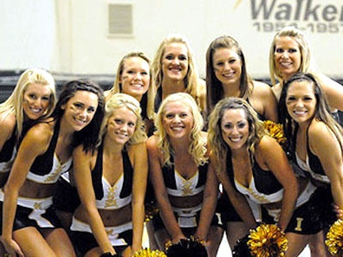 13 idaho vandals football cheerleaders