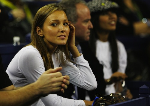 14 Jelena-Ristic novak djokovic girlfriend U.S. Open WAGs