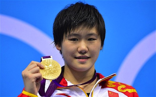 #14 Ye Shiwen gold swimming china