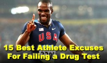 15 Best Athlete Excuses For Failing A Drug Test