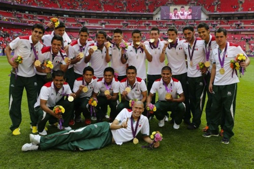 #15 mexico olympic soccer gold