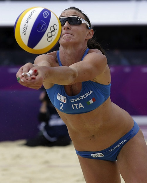 #17 2012 summer olympics beach volleyball greta cicolari italy