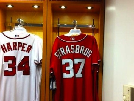 19 stephen strasburg misspelled jersey