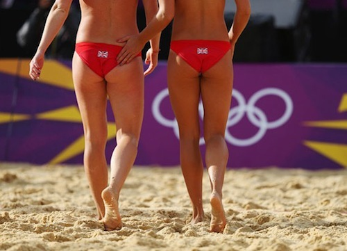 #2 2012 summer olympics beach volleyball zara dampney shauna mullins great britain