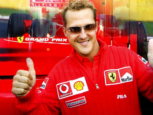 20 Michael Schumacher highest paid athletes
