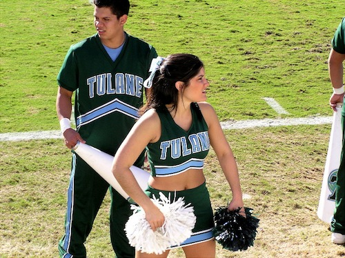tulane football cheerleader