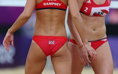 #23 2012 summer olympics beach volleyball zara dampney shauna mullins