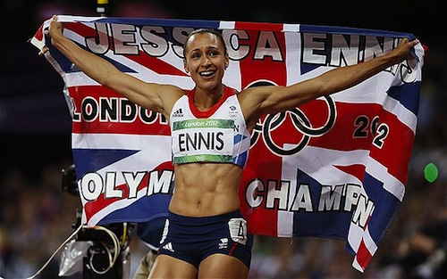 #23 jessica ennis great britian heptathlon gold