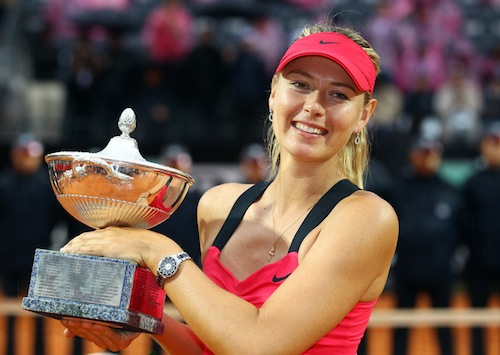 maria sharapova highest paid athletes