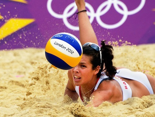 #28 2012 summer olympics beach volleyball elsa baquerizo spain 6