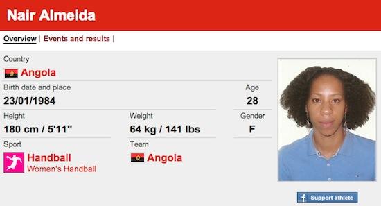 #29 Nair Almeida funny olympic names