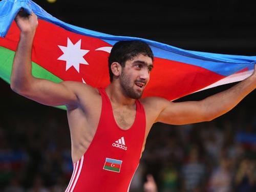 #3 Toghrul Asgarov azerbaijan gold medal wrestling