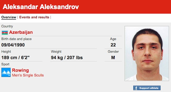 #30 Aleksandar Aleksandrov funny olympic names 2