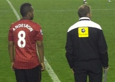 30 anderson andesron misspelled jersey manchester united
