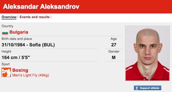 #31 Aleksadar Aleksandrov funny olympic names