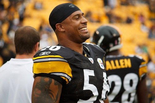 31 LaMarr Woodley highest paid athletes