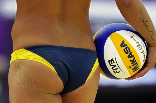 #32 beach volleyball larissa franca brazil london 2012 summer olympics