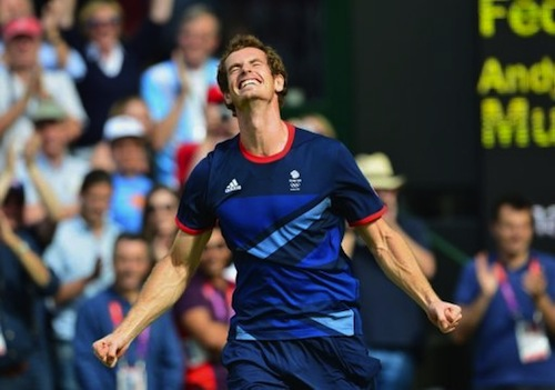 4 Andy Murray gold medal