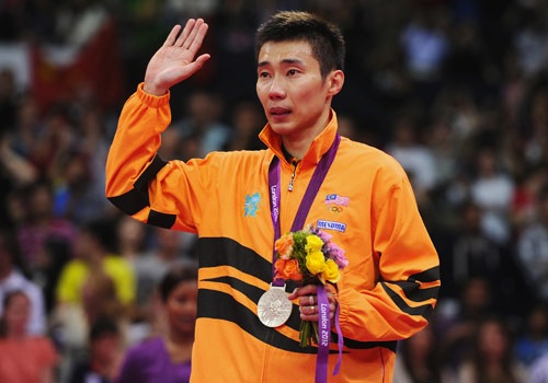 #4 Chong Wei Lee silver table tennis malaysia