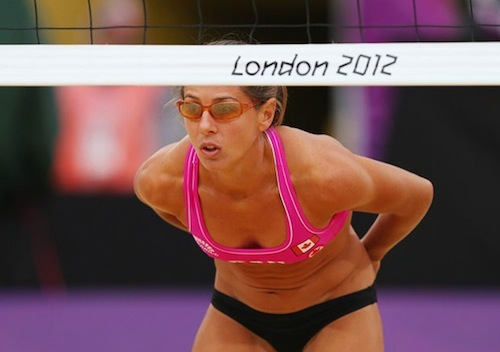 #40 2012 summer olympics beach volleyball annie martin canada