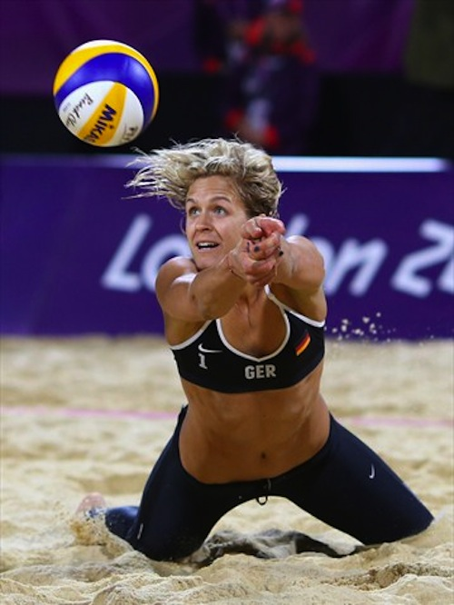 #43 laura ludwig germany beach volleyball 2012 summer olympics london
