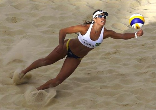 #50 maria antonelli brazil beach volleyball olympics 2012 london
