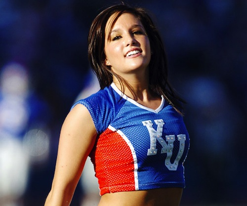 7 kansas football cheerleader