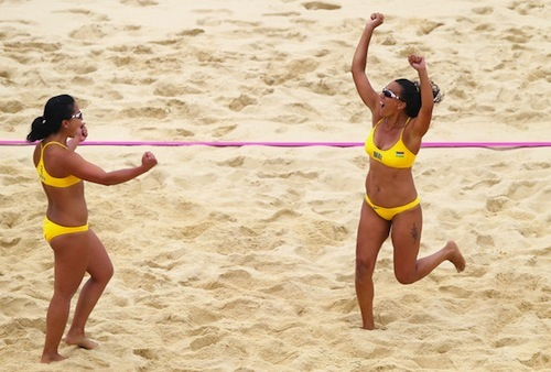 #8 Natacha+Rigobert+Olympics+Day+5+Beach+Volleyball Mauritius