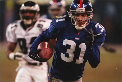 Jason Sehorn interception