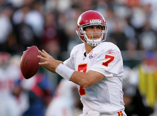 matt cassel chiefs quarterback