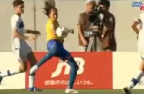 brazil amanda great goal