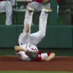bryce harper bad defense of rollins home run