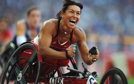 chantal petitclerc greatest paralympians