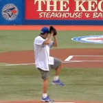 charlie sheen opening pitch