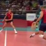 don suxho volleyball kick save olympics