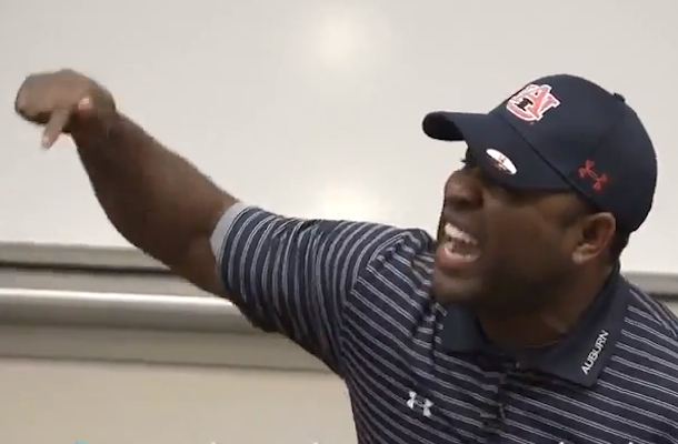 eric thomas motivational speech to auburn football