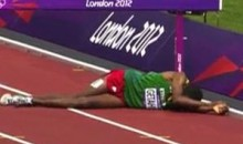 Ethiopian Steeplechase Fail At The Olympics (Video)