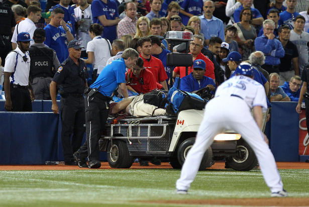 fan dies at blue jays game