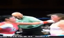 Female Boxer Takes 15 Straight Punches To The Face (Video)
