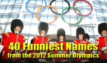 40 Funny Names from the 2012 Summer Olympics