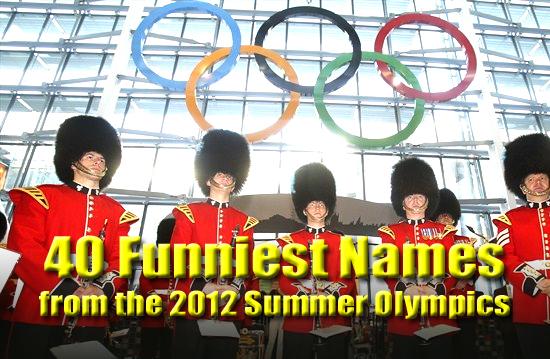 funny names olympics 2012