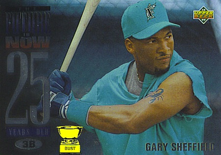 gary sheffield marlins baseball card little league world series