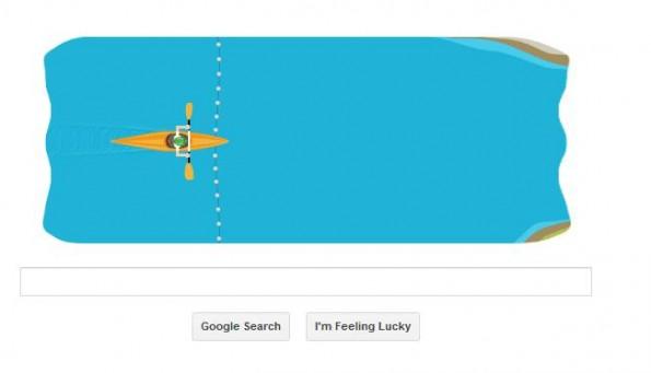 google doodle kayak 1