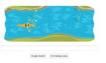 Google's Homepage Has A Cool Kayak Game