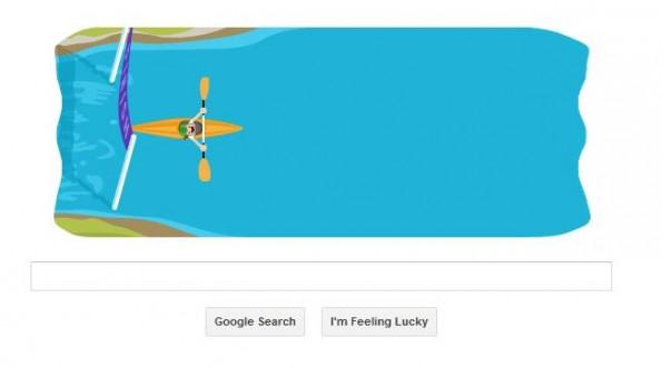 google doodle kayak 3
